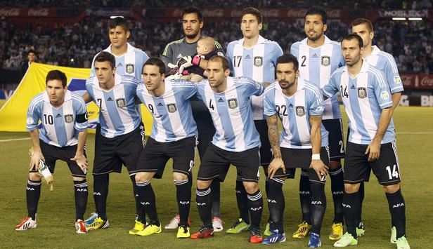 Gruppe F Wm 2014 Team Check Argentinien News At