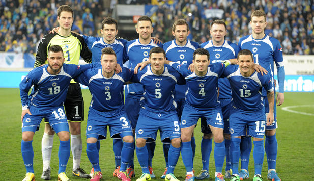 Bosnien Teamfoto