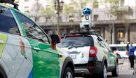 Google Street View-Auto in Buenos Aires.