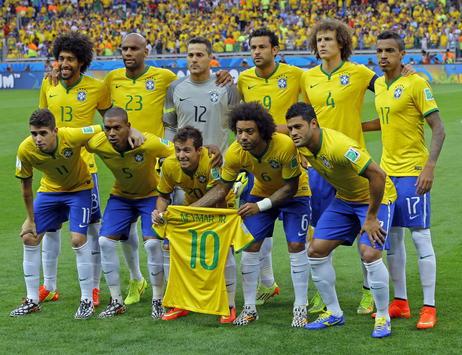 Fussball Wm 2014 Halbfinale Deutschland Demutigt Brasilien