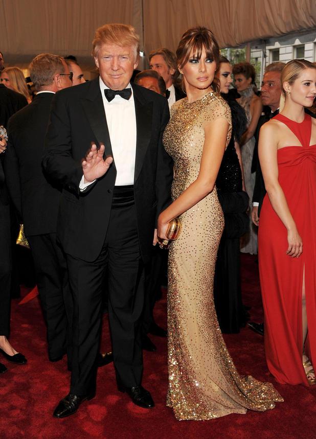 Melania Trump Wie Heiss Darf Eine First Lady Sein News At