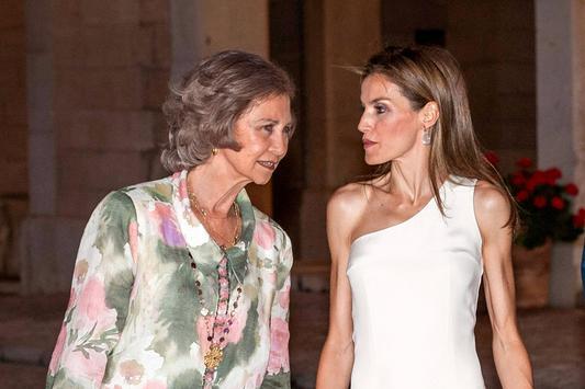 Spanische Royals Königin Letizia Im Magerwahn Newsat