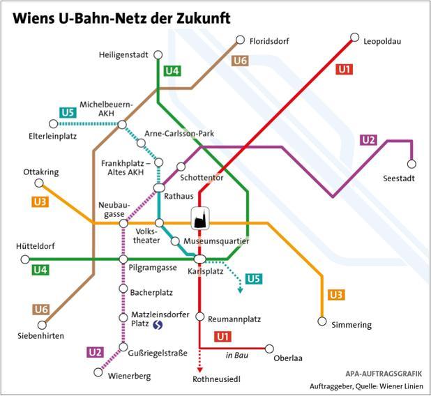 Neue U Bahn Linie U5 Mehrheit Für Türkis Newsat