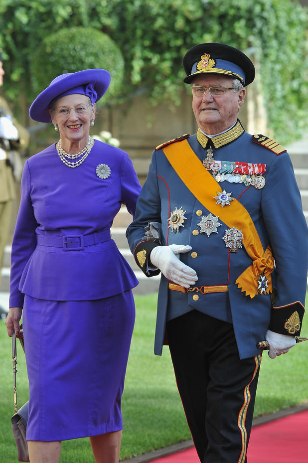 Queen Margarethe of Denmark and Prince Henrik of Denmark