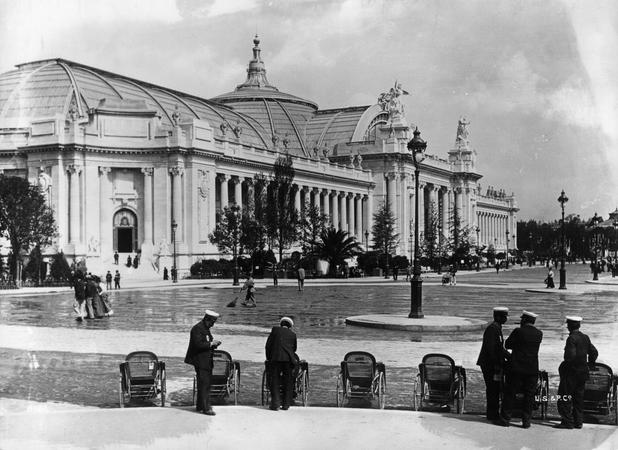 Der Grand Palais in Paris