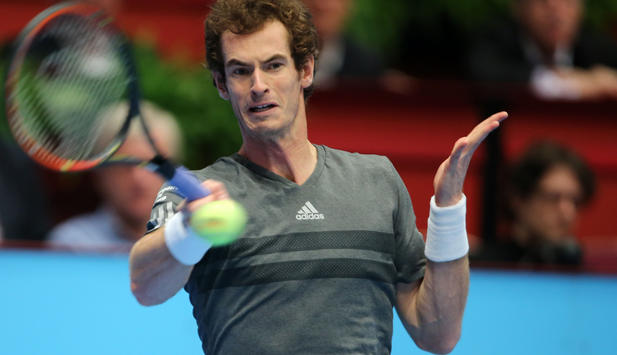 Andy Murray Vorhand in Wien