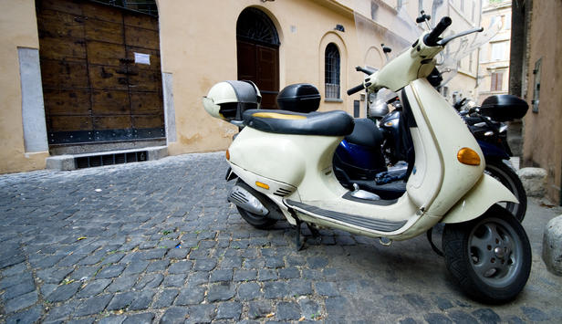 Moped in Italien