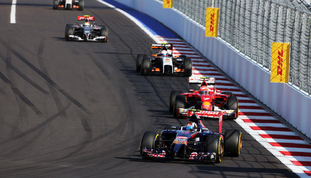 Formel-1-Qualifying in Russland