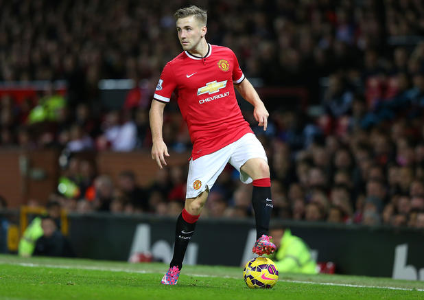 Luke Shaw im ManUnited-Dress