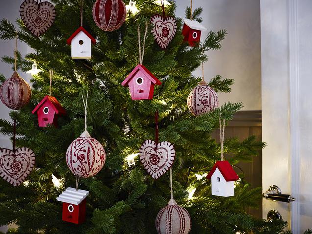Weihnachtsdeko Ikea vintermys christbaumschmuck at