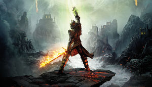 Dragon Age Inquisition Keyart