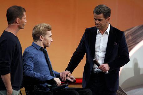 Markus Lanz mit Samuel Koch