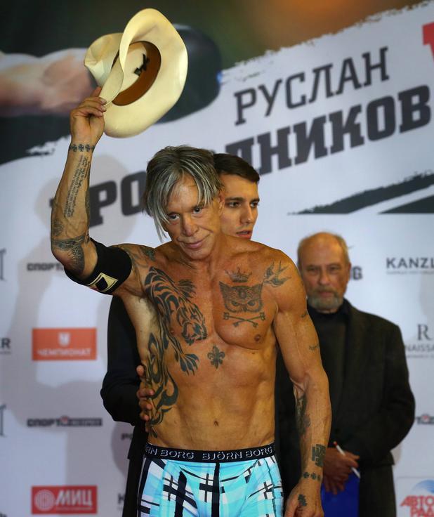 Mickey Rourke Russian Bride Up 39
