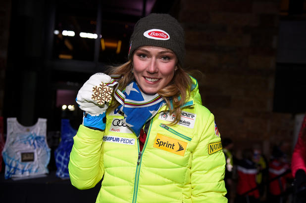 Shiffrin hat Gold