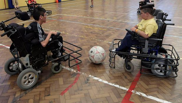 Powerchair-Football