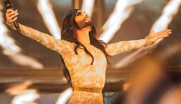 Conchita am Song Contest