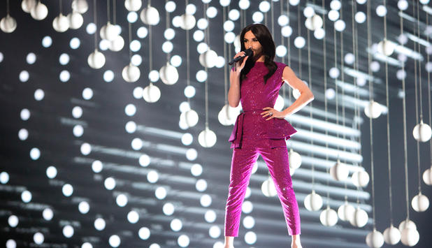 Conchita Wurst am Song Contest 2015