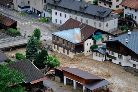 Schwere Unwetter in Tirol
