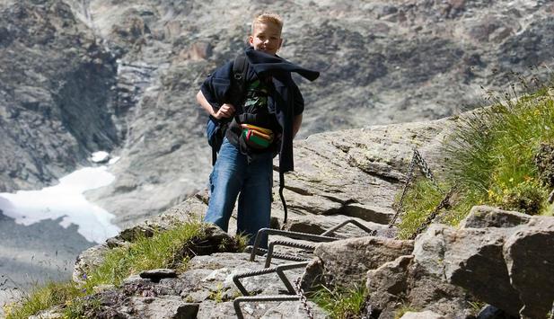 Klettersteig Kinder : Kinderklettersteig