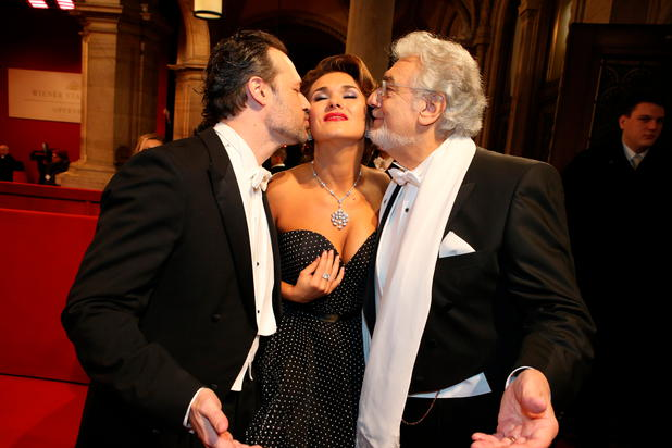 Placido Domingo am Opernball