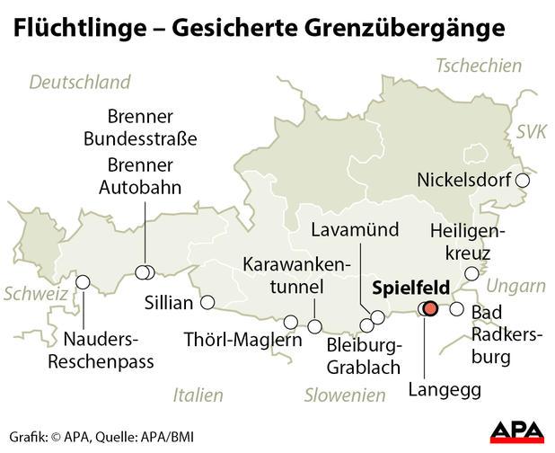 grenzübergänge österreich karte Österreich Österreichische Grenzübergänge   Elektrosystem grenzübergänge österreich karte