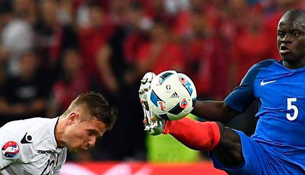 albanien em achtelfinale