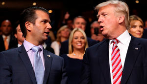 Donald Trump Sr. und Jr.