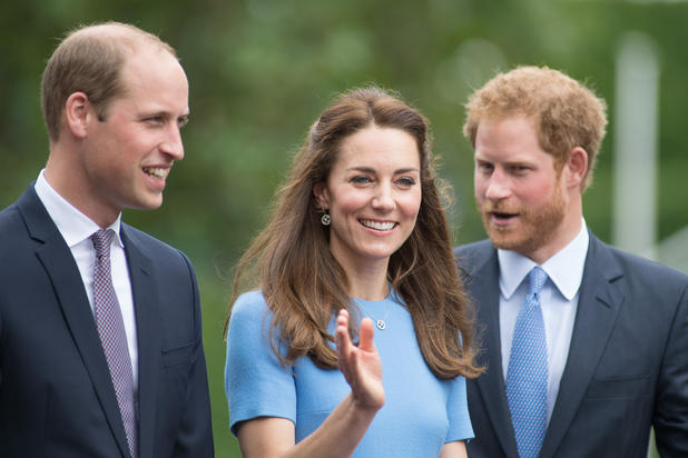 William, Kate, Harry