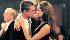 "Brad Pitt und Angelina Jolie in ""Mr. & Mrs. Smith"""