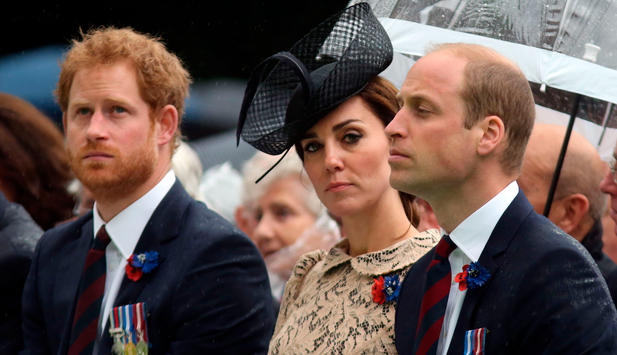 Harry, Kate und William