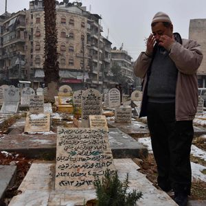 Friedhof in Syrien