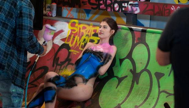 Germany topmodel shooting nackt next So frauenfeindlich