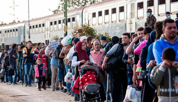 Stockende Umverteilung von Flüchtlingen