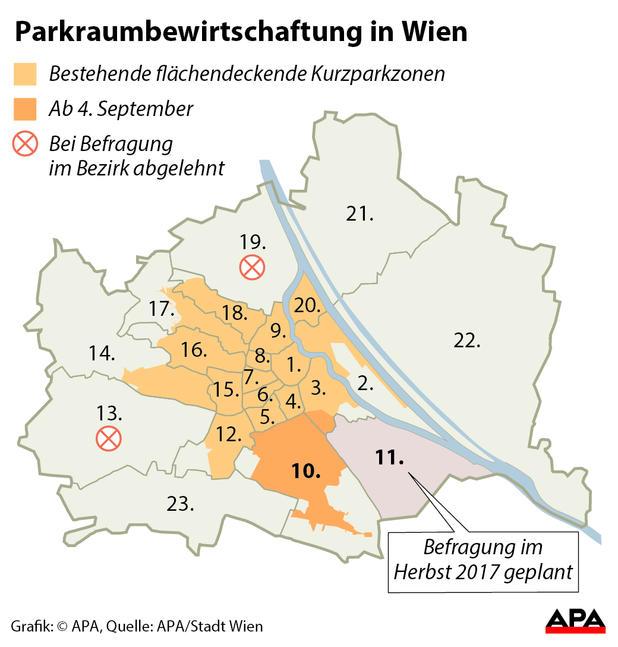 Wien Favoriten Wird Parkpickerl Zone Anträge Ab 1 Juni Möglich
