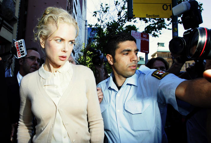 Nicole Kidman Gives Evidence In Sydney Court