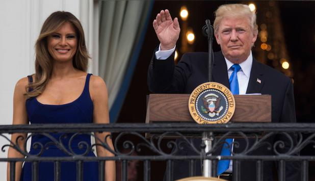 Polens First Lady ignoriert Trumps Handshake