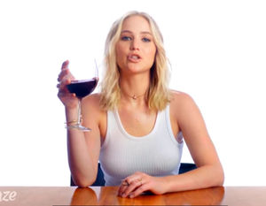 "Jennifer Lawrence Plays ""Movie Review or Wine Review?"""