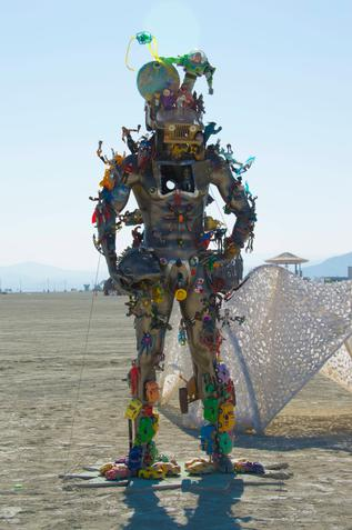 """Burning Man Festival"" in Nevada"