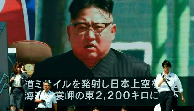 Konflikt- Nordkorea feuert erneut Rakete