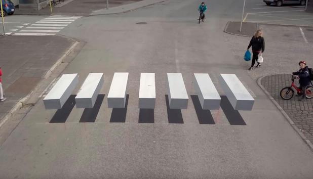 Optische Tauschung Hier Bleiben Bestimmt Alle Autofahrer Stehen