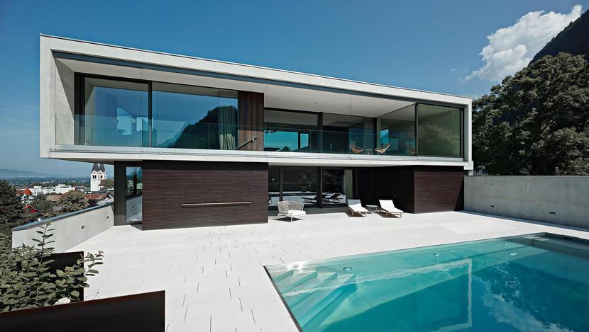 Architektur - Die besten Einfamilienhäuser aus Beton - Slide 1