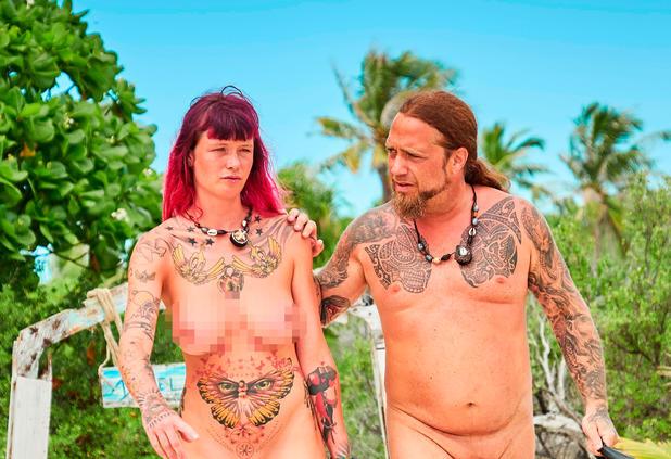 Frauen eva adam nackt und Ganz schön