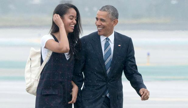 Malia Obama vergnügt sich mit einem Harvard-Studenten