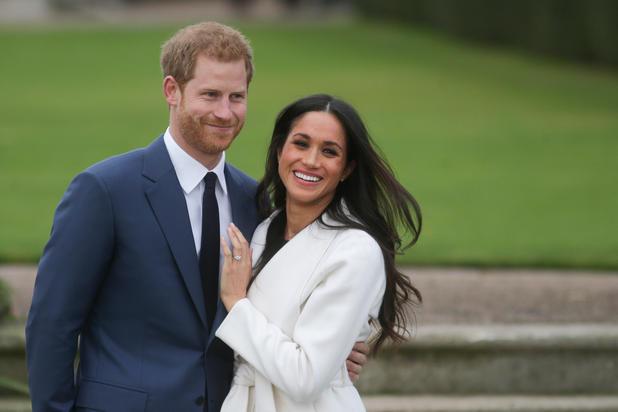 APA  AFP  Daniel LEAL-OLIVAS Harry und Meghan bei der Bekanntgabe ihrer Verlobung