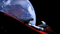SpaceX - Private Rakete schoss Tesla ins All