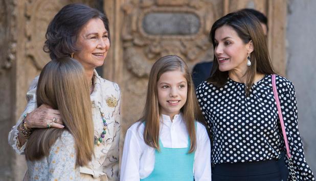 Letizia Vs Sofia Dicke Luft Bei Spaniens Royals Newsat