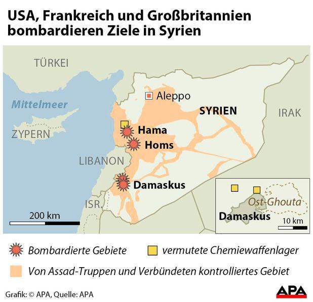 USA danken Tschechien für Rückhalt nach Angriff auf Syrien